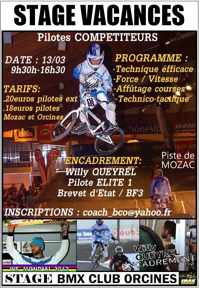 Stage COMPETITION Hiver 2014